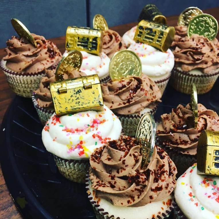 treasure cupcakes
