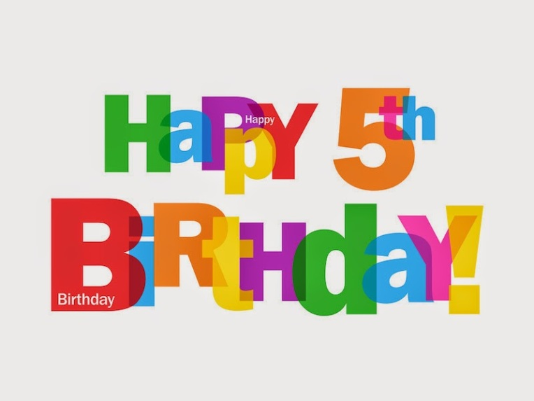 Image result for 5th birthday